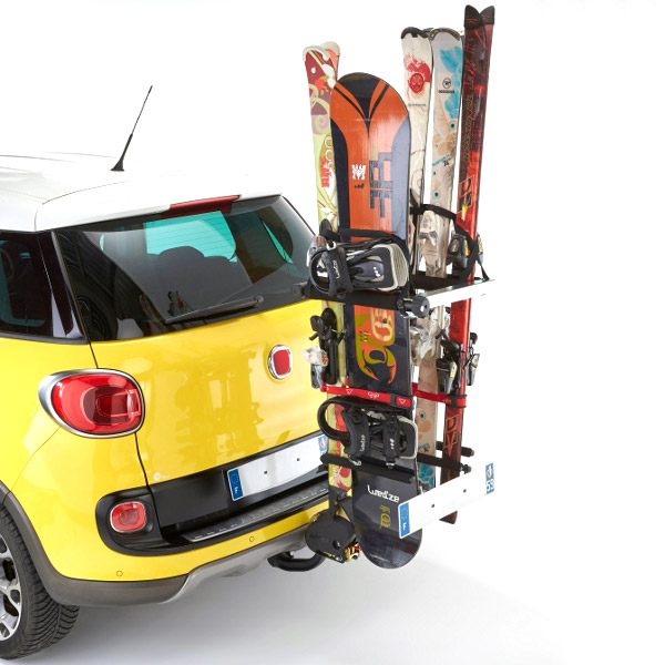 Ski Rack For Car >> Mottez snowboard Carrier for tow bar | Best Ski Rack - Ski & Snowboard Car Racks - Bestskiracks.com