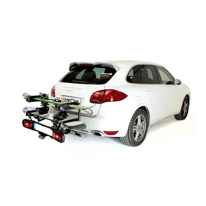 Tow bar ski and boardtable carrier best ski rack ski snowboard ski aloadofball Images
